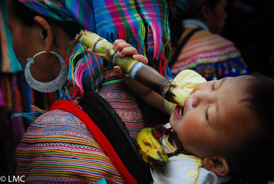 Vietnam People Mensen Kids Children Kinderen Men Man Women Woman Colourful Stammen Indigenous Bergstammen Sapa Motor Portrait Photography Portret Portretfotografie Lisa Crooy Stock Fotog